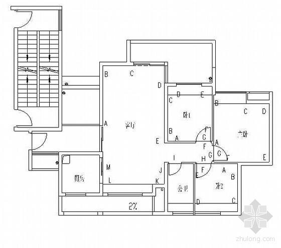 某知名房地产企业实测实量检查验收标准(2009年)