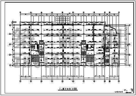 北方某高层公寓全套施工图