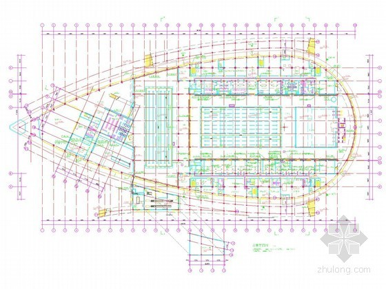 [福建]奥体中心场馆智能化系统施工图纸(含商业知名设计院)