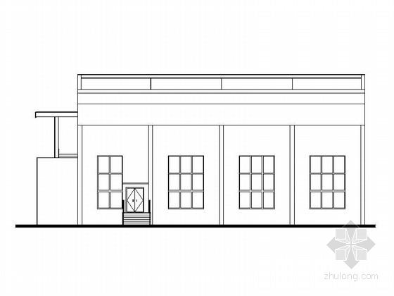 [湖南]中学多功能报告厅及总务办公楼改造设计施工图