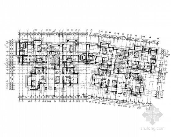 [四川]超高层一类住宅楼群给排水消防施工图
