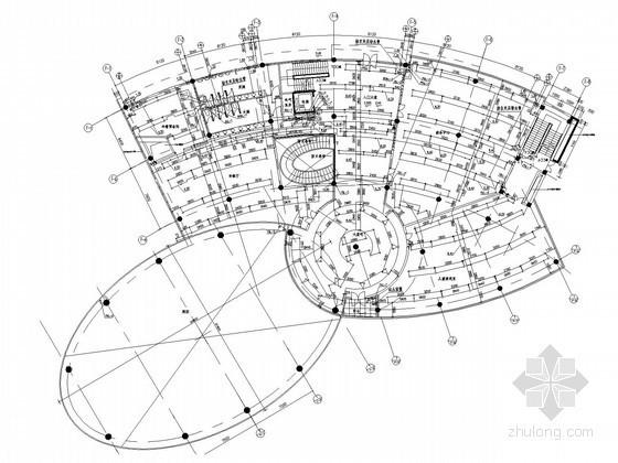 会所建筑给排水施工图(游泳池 按摩池)