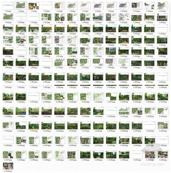 [重庆]简洁大气高层住宅小区景观规划详细设计方案(170页精美图纸)-缩略图