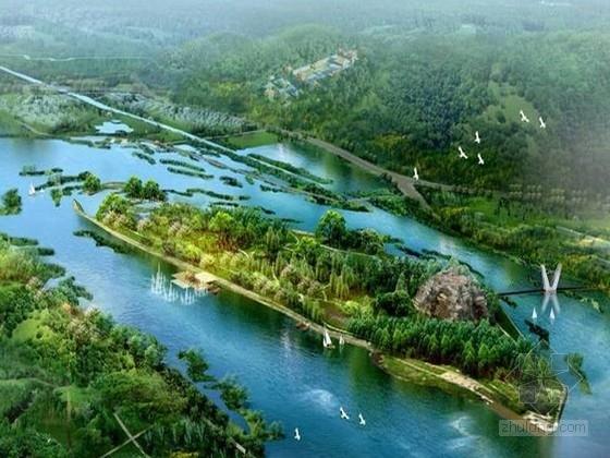 [沈阳]滨河两岸绿化景观改造规划设计方案