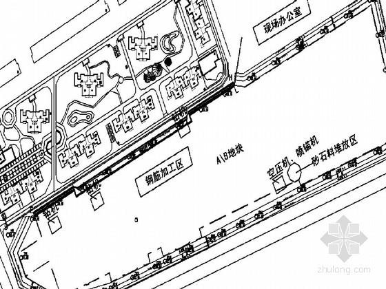 [湖北]高层住宅楼基坑排桩及开挖喷锚支护施工方案