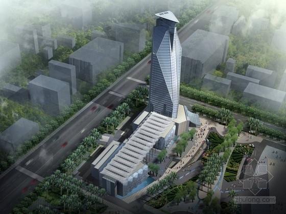 [厦门]162米现代风格酒店及工人文化宫等建筑设计方案文本(知名设计院 含CAD)