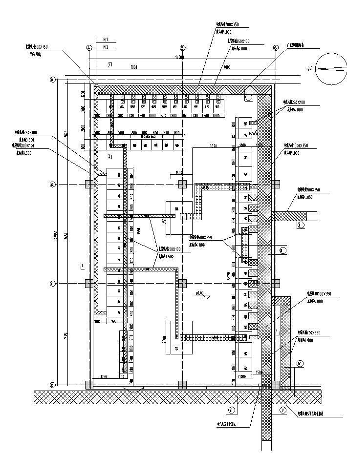 变配电间负一层电气安装图(一)