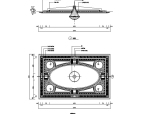 CAD室内设计施工图常用图块之顶棚