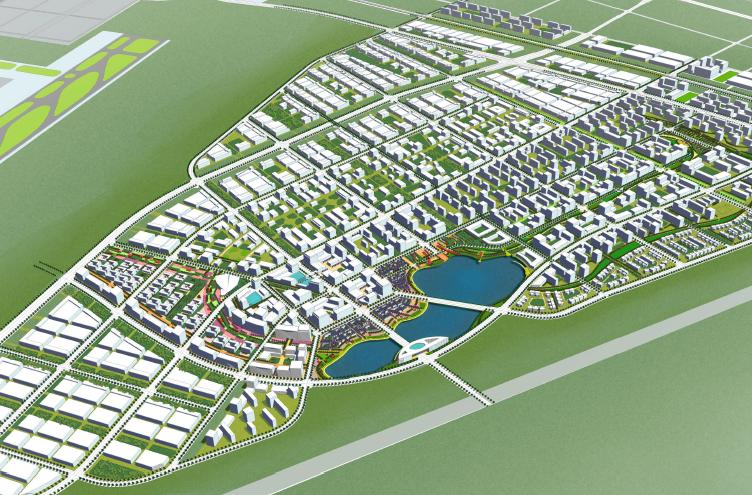 [河北]石家庄空港工业园城市设计方案文本