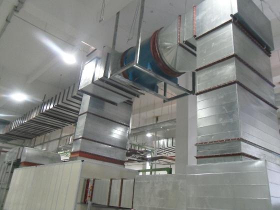 暖通工程毕业设计(空调、新风、防排烟设计)