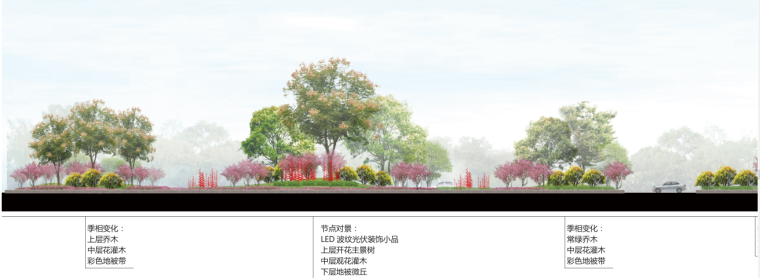 [湖北]中华一路道路景观规划设计(PDF+66页)-植物分析