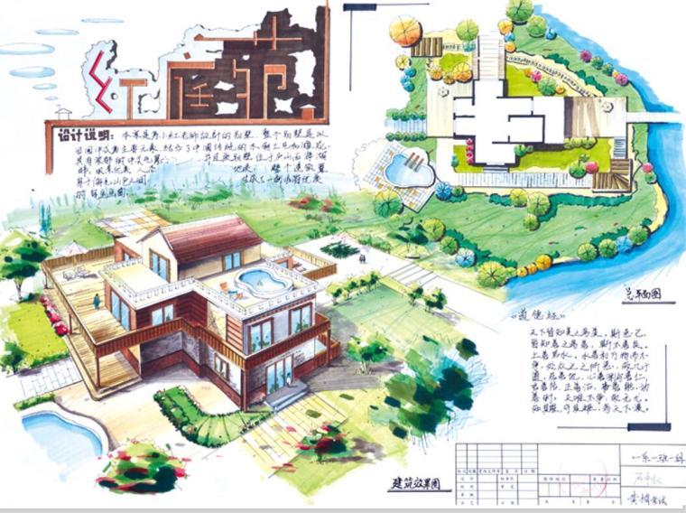 室外景观设计优秀快题(PPT+25页)