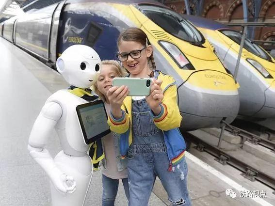 国外火车站的机器人都长啥样?进来看看就知道!