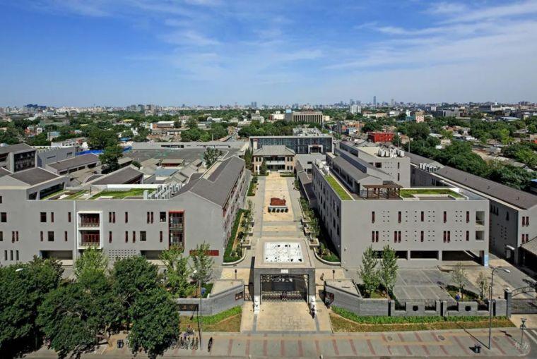新作|是学校亦是宅院:北京三十五中高中新校园设计/中国建筑设