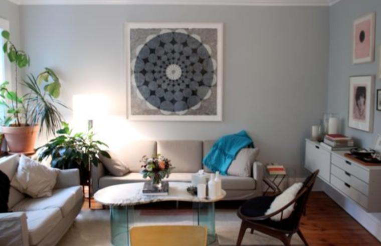 阳光四溢一居室清新洋溢室内设计实景图