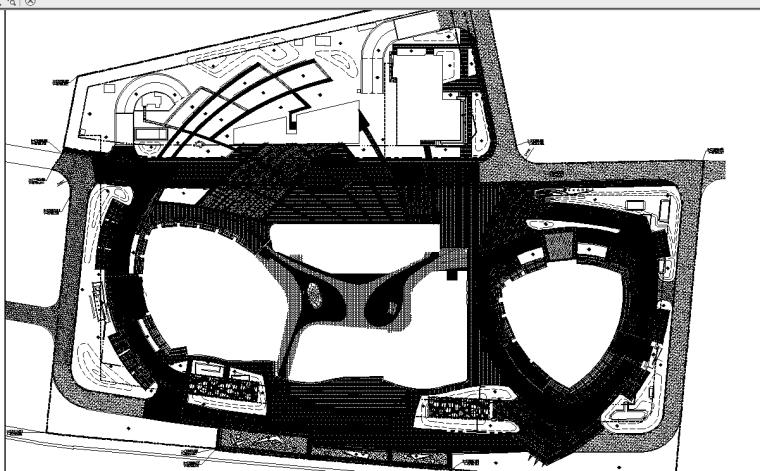 [福建]最新海峡大厦景观全套施工图设计