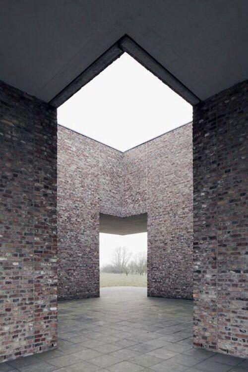 砖的艺术,看看如何把砖赋予艺术性的用在建筑上?_6