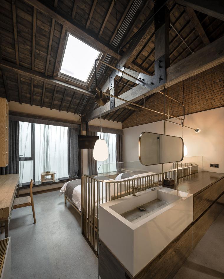 上海原招待所改造的新中式渝舍印象酒店内部实景图 (11)