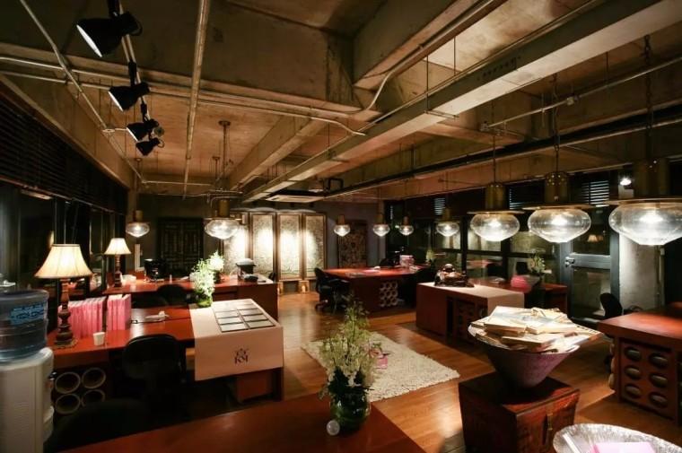 上海现代感的老场坊博览馆室内实景图 (9)
