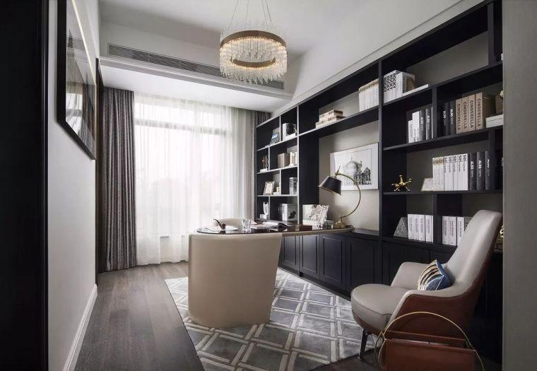 240㎡珍稀优雅豪宅软装设计,创造引领新都市的优质生活空间!_13