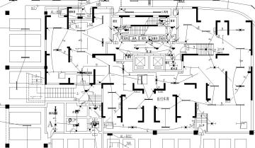 某高层住宅全套电气施工图