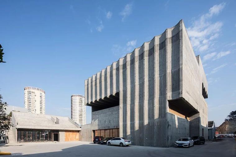 台州旧仓库改造的当代美术馆-2