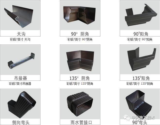 彩铝成品天沟安装施工工法