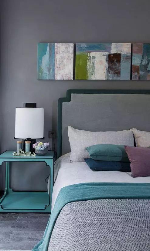 卧室背景墙别放空,这样设计美极了!_4