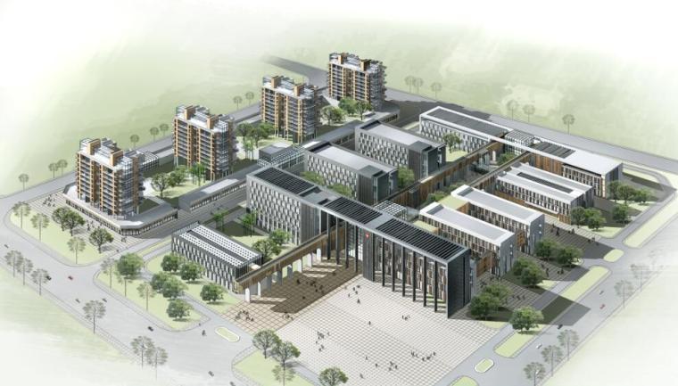 [河南]某市第七人民医院迁建项目方案设计文本PDF(45页)