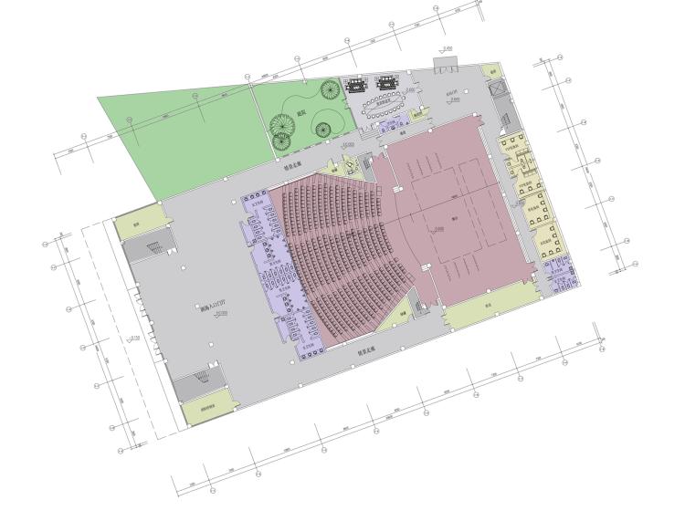 [湖南]西南设计院多功能文化艺术中心建筑设计方案文本_6