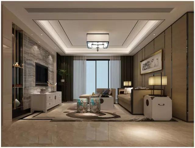 华润仰山140平现代简约风格装修设计案例|万泰装饰