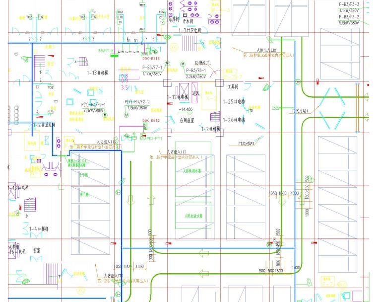 [甘肃]最新人民医院电气全套施工图310页(甲级院设计)._2
