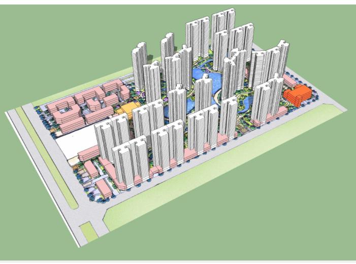 [湖北]安陆住宅小区规划设计方案文本