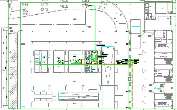 铁路枢纽广场工程设备图纸323张(照明给排水、消防供电智能化系统)_2