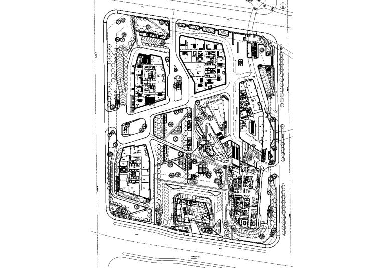 [北京]5A级购物中心全套施工图(赠PDF版施工图)