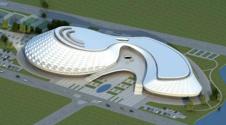 钢构,透明采光顶的体育馆空调通风系统选择方案