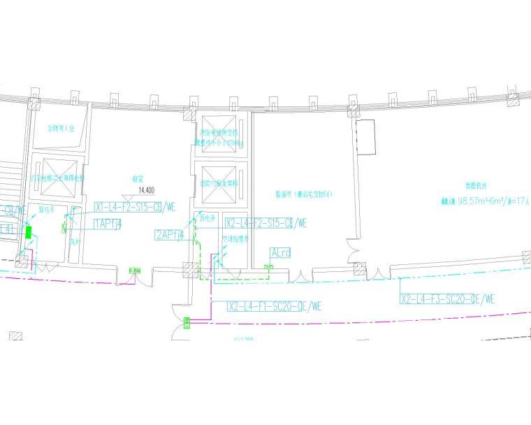 某图书馆电气施工图全套(含电气、照明、配电、消防联动)_11