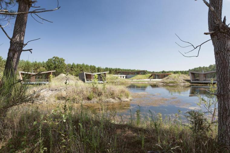 法国风景如画的生态酒店-5