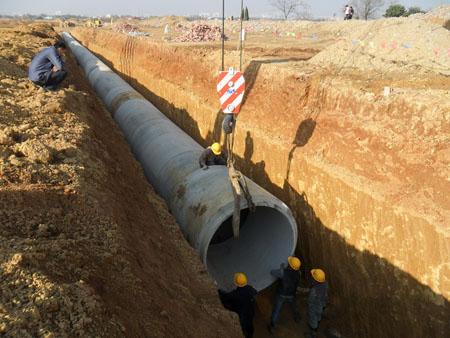 雨水管道及污水管道修复工程施工组织设计图片