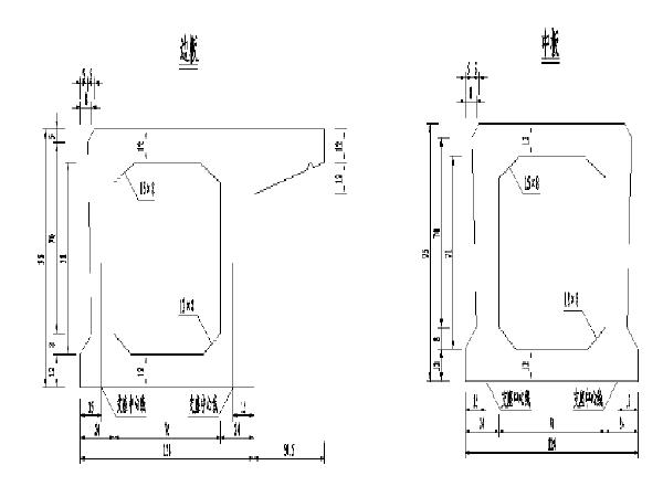 桥梁施工图设计,模板(毕业设计共60页)