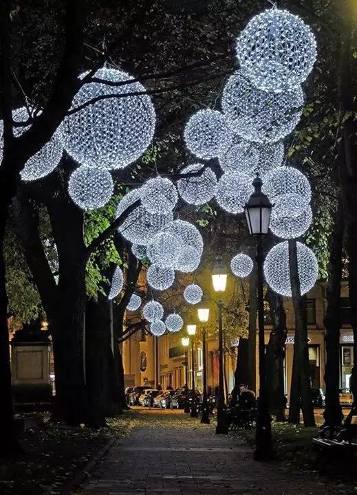 景观灯光设计。当灯光碰上景观,浪漫的夜晚就开始了!_40