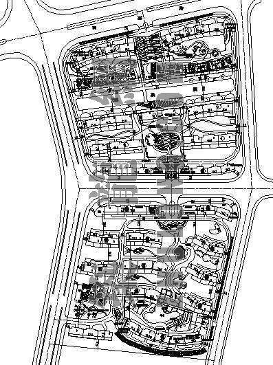 某市冠茂芳洲苑详细规划设计