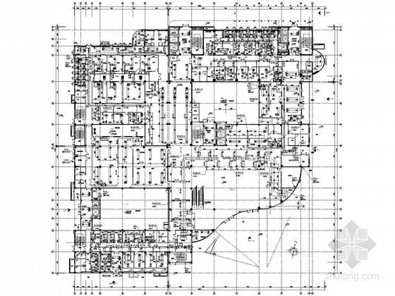 [福建]大型医院空调通风及医用气体设计施工图118张(门诊楼 病房楼)