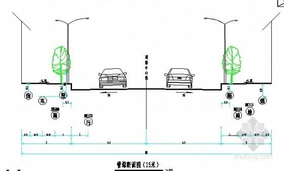 [贵州]市政道路综合管网全套设计图