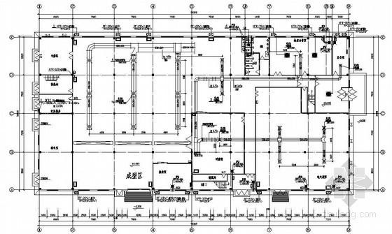 某厂房空调图纸资料下载-某厂房空调施工图纸