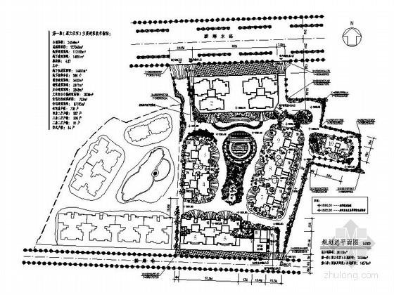 [四川]某高层住宅小区规划方案图