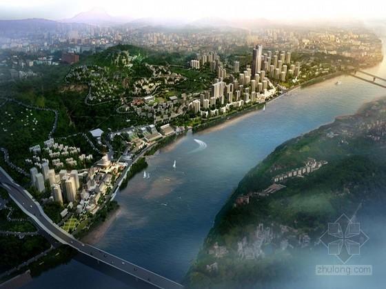 [重庆]两江四岸城市设计某城段规划设计