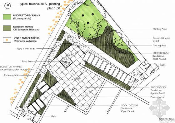 居住区景观设计扩初方案(三)