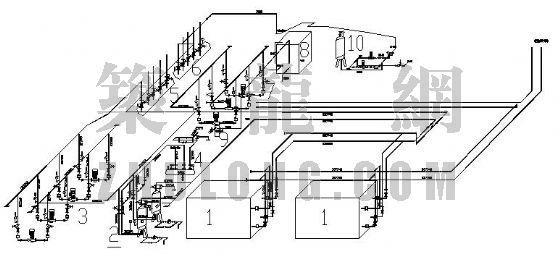 空调机房轴测图设计