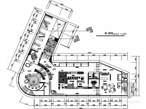 知名瓷砖品牌体验馆展厅设计装修施工图